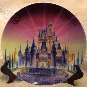 Walt Disney World plate